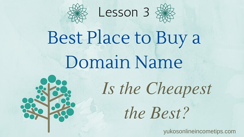 the best place to buy a domain name