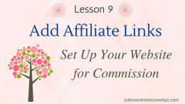 add affiliate links to wordpress