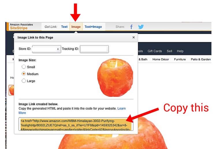 add amazon affiliate links to wordpress sites
